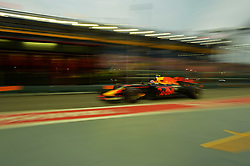 SINGAPORE, Sept. 16, 2017  Red Bull Racing Tag Heuer's Dutch driver Max Verstappen drives during the third practice session of the Formula One Singapore Grand Prix in Singapore on Sept. 16, 2017. Max Verstappen posted the fastest time with 1:41.829 in the final and final practice ahead of qualifying later Saturday.  wll) (Credit Image: © Then Chih Wey/Xinhua via ZUMA Wire)