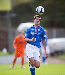 St Johnstone's Brian Graham.<br /> St Johnstone 1 v 2 Kilmarock, SPL game played at McDrarmid Park.