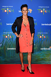 Dame Kelly Holmes attending the premiere of Cirque du Soleil's Totem, in support of the Sentebale charity, held at the Royal Albert Hall, London.