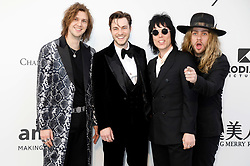 May 23, 2019 - Antibes, Alpes-Maritimes, Frankreich - The Struts attending the 26th amfAR's Cinema Against Aids Gala during the 72nd Cannes Film Festival at Hotel du Cap-Eden-Roc on May 23, 2019 in Antibes (Credit Image: © Future-Image via ZUMA Press)