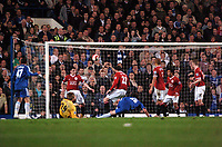 Photo: Tony Oudot.<br /> Chelsea v Manchester United. The Barclays Premiership. 09/05/2007.<br /> John Terry of Chelsea comes close with a shot
