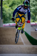#298 (MADIDA Manqoba) RSA at Round 5 of the 2019 UCI BMX Supercross World Cup in Saint-Quentin-En-Yvelines, France