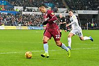 Football - 2018 / 2019 Championship - Swansea City vs Aston Villa<br /> … at the Liberty Stadium.<br /> <br /> <br /> Anwar El Ghazi of Aston Villa on the attack<br /> <br /> Credit: COLORSPORT/Winston Bynorth