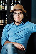 Portrait of Sommelier Miguel Marquez