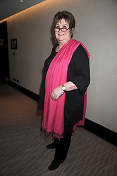 JENNI MURRAY at the 2008 Costa Book Awards held at the Intercontinental Hotel, Hamilton Place, London on 27th January 2009.