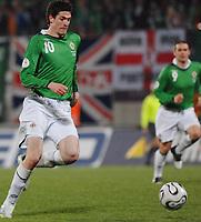 Fotball<br /> Liechtenstein v Nord Irland<br /> 24.03.2007<br /> Foto: Gepa/Digitalsport<br /> NORWAY ONLY<br /> <br /> Kyle Lafferty (NIR)