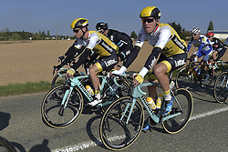 October 9, 2016 - Tours, FRANCE - TOURS, FRANCE - OCTOBER 9 : TEUNISSEN Mike (NED) Rider of TEAM LOTTO NL - JUMBO in action during  the 110th edition of the Paris-Tours cycling race with start in Dreux and finish in Tours on October 09, 2016 in Tours, France, 9/10/2016 (Credit Image: © Panoramic via ZUMA Press)