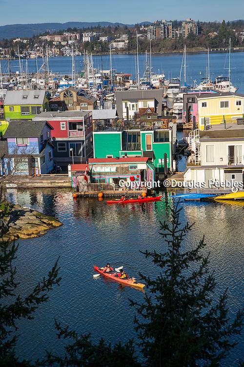 Fisherman's Wharf, Victoria, Harbor, Vancouver Island, Brithish Columbia, Canada