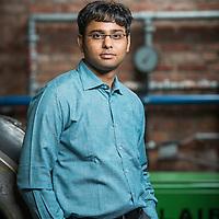 Leuven, Belgium 30 January 2014<br /> Researcher Saurabh Jain.<br /> Photo: Ezequiel Scagnetti
