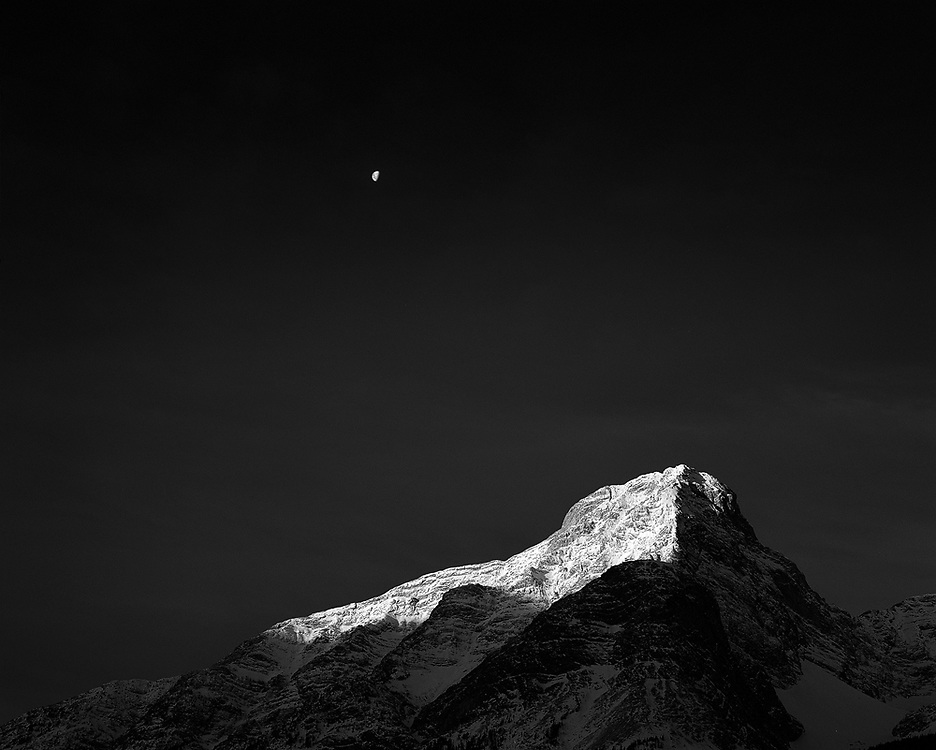 Moon over Old Goat Mountain