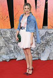 Olivia Cox attending the European premiere of Rampage, held at the Cineworld in Leicester Square, London. Photo credit should read: Doug Peters/EMPICS Entertainment