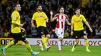 Brentford FC's Jota during the Sky Bet Championship match between Watford and Brentford at Vicarage Road, Watford 30/09/2014