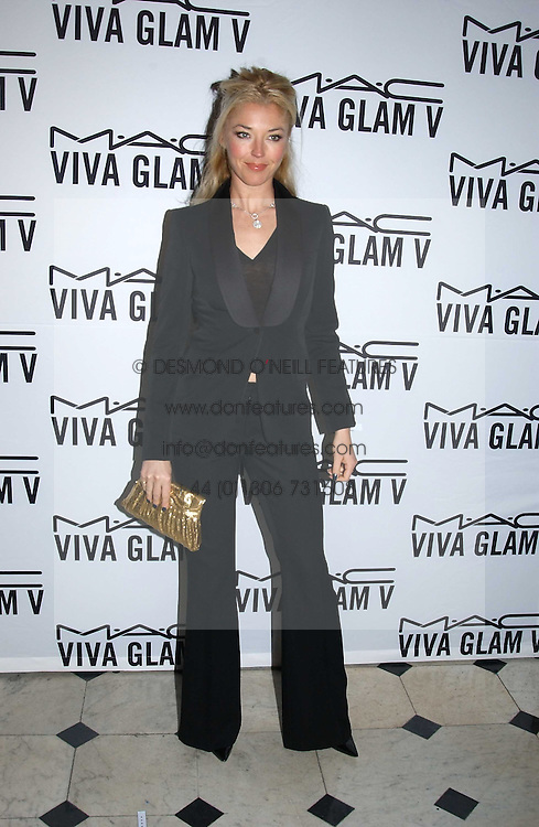 TAMARA BECKWITH at a party to celebrate Pamela Anderson's new role as spokesperson and newest face of the MAC Aids Fund's Viva Glam V Campaign held at Home House, Portman Square, London on 21st April 2005.<br /><br />NON EXCLUSIVE - WORLD RIGHTS