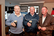 Mike Kelly Ballybane, Sean Connor Renmore and Brendan Walsh Castlegar attending the GUINNESS Mid-Strength Taste Test Tour. Guinness Master Brewer Fergal Murray and former Irish Rugby International Mick Galwey hosted the event, which featured a special Q&A on rugby and a Pour Your Pint Competition. .Full details are available on www.Facebook.com/Guinnessireland GUINNESS Mid-Strength has the unmistakable distinctive taste and is brewed in exactly the same way as GUINNESS, just with less alcohol at 2.8%...The GUINNESS word and associated logos are trademarks...Enjoy Guinness Sensibly...Visit www.drinkaware.ie..