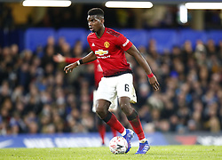 February 18, 2019 - London, United Kingdom - Manchester United's Paul Pogba.during FA Cup Fifth Round between Chelsea and Manchester United at Stanford Bridge stadium , London, England on 18 Feb 2019. (Credit Image: © Action Foto Sport/NurPhoto via ZUMA Press)