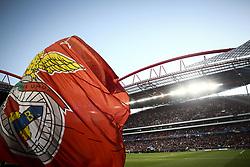 September 12, 2017 - Lisbon, Portugal - Benfica flag  during the Champions League  football match between SL Benfica and CSKA Moskva at Luz  Stadium in Lisbon on September 12, 2017. NURPHOTO/CARLOS COSTA. (Credit Image: © Carlos Costa/NurPhoto via ZUMA Press)