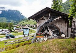 THEMENBILD - Wassermühle am Döllbach. Die Grossglockner Hochalpenstrasse verbindet die beiden Bundeslaender Salzburg und Kaernten mit einer Laenge von 48 Kilometer und ist als Erlebnisstrasse vorrangig von touristischer Bedeutung, aufgenommen am 5. Juni 2017, Grosskirchheim, Oesterreich // Watermill at the Döllbach. The Grossglockner High Alpine Road connects the two provinces of Salzburg and Carinthia with a length of 48 km and is as an adventure road priority of tourist interest at Grosskirchheim, Austria on 2017/06/05. EXPA Pictures © 2017, PhotoCredit: EXPA/ JFK