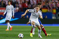 Real Madrid´s Toni Kroos during quarterfinal first leg Champions League soccer match at Vicente Calderon stadium in Madrid, Spain. April 14, 2015. (ALTERPHOTOS/Victor Blanco)