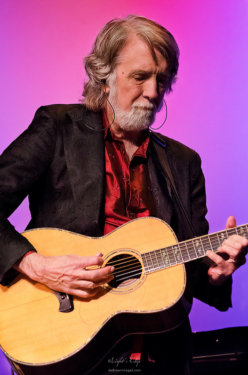 John McEuen on guitar during the Nitty Gritty Dirt Band performance at the Landis Theater in Vineland, NJ.