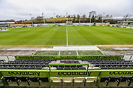 The New Lawn, home of Forest Green Rovers during the Vanarama National League match between Forest Green Rovers and Torquay United at the New Lawn, Forest Green, United Kingdom on 1 January 2017. Photo by Shane Healey.