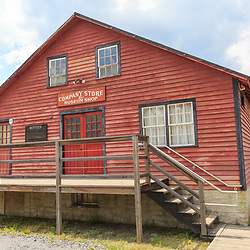 Weatherly, PA, USA - June 20, 2013: The company store was built as a prop in Eckley Miners Village in PA for the Molly Maquires movic.