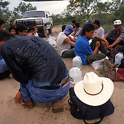 A group of undocumented migrants are detained after crossing the Rio Grande River into Eagle Pass, Texas. The river is the international boundary between Piedras Negras, MX and Eagle Pass and is easily crossed, making the small Texas town a hot-spot for illegal crossings. Please contact Todd Bigelow directly with your licensing requests. PLEASE CONTACT TODD BIGELOW DIRECTLY WITH YOUR LICENSING REQUEST. THANK YOU!