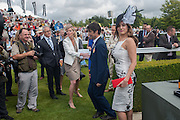 KELLY BROOK, Ladies Day, Glorious Goodwood. Goodwood. August 2, 2012