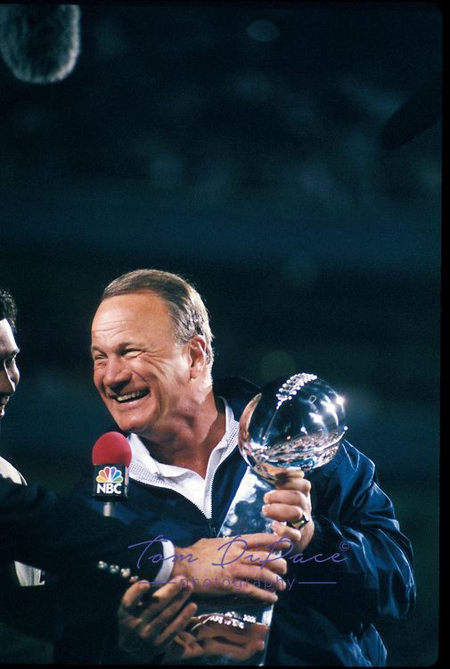 ©2006 Tom DiPace Photography<br />All Rights Reserved<br /><br />Steelers -Cowbowys SBXXX 1.28.96<br />Barry Switzer<br /><br />By Tom DiPace©