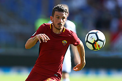 September 23, 2017 - Rome, Italy - Alessandro Florenzi of Roma during the Italian Serie A football match between AS Roma and Udinese on September 23, 2017 at the Olympic stadium in Rome. (Credit Image: © Matteo Ciambelli/NurPhoto via ZUMA Press)