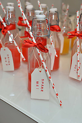 Drinks at a Valentine's charity event to raise heart awareness and support the charity Arrhythmia Alliance held at Sophie Gass, 4 Ladbroke Grove, London on 13th February 2014.