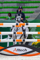 Amy Graham, (AUS), Bella Baloubet - Team & Individual Competition Jumping Speed - Alltech FEI World Equestrian Games™ 2014 - Normandy, France.<br /> © Hippo Foto Team - Leanjo De Koster<br /> 02-09-14