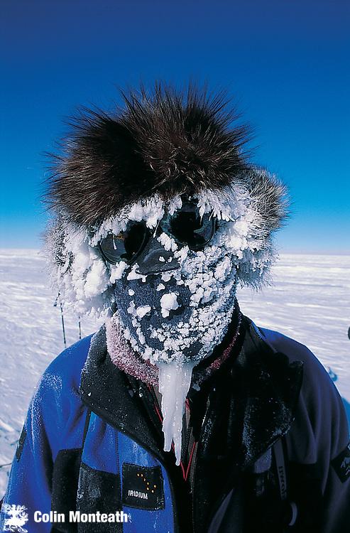 Jon Muir, Australian adventurer and polar traveller, Polar Plateau, Antarctica