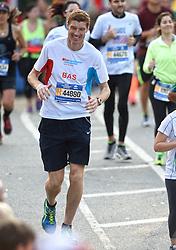 01-11-2015 USA: NYC Marathon We Run 2 Change Diabetes day 4, New York<br /> De dag van de marathon, 42 km en 195 meter door de straten van Staten Island, Brooklyn, Queens, The Bronx en Manhattan / Bas