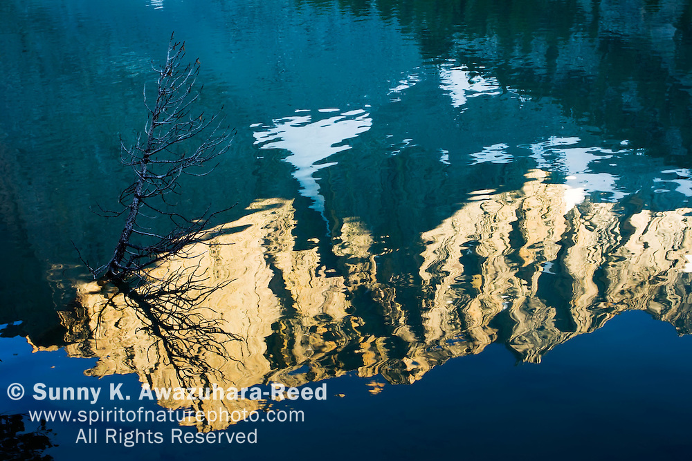 Temple Crag Reflection on Third Lake