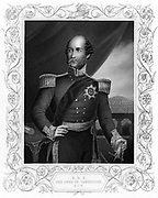George William Frederick Charles, 2nd Duke of Cambridge (1819-1904), c1856. English soldier and cousin of Queen Victoria.  Commanded a division in  the Crimean Russo-Turkish) War (1853-1856) and present at Alma and Inkermann. Field marshal (1862): Commander-in-Chief of army the British army (1887). Engraving.