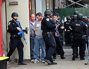 Nov. 22, 2015 - New York City, NY, USA - <br /> <br /> Members of the New York Police Department and New York Fire Department took part in Anti-Terrorist Drills on November 22 2015 in New York City<br /> ©Exclusivepix Media