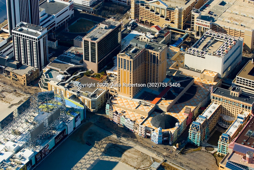 Aerial view of the Playground pier, Atlantic City, <br /> The Pier Shops at Caesars: World Class Shopping & Dining