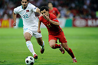 Hamit Altıntop (TUR) gegen Simao (POR). © Manu Friederich/EQ Images