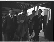 Pelé escorted upon arrival in Dublin..May 1979 March 1987