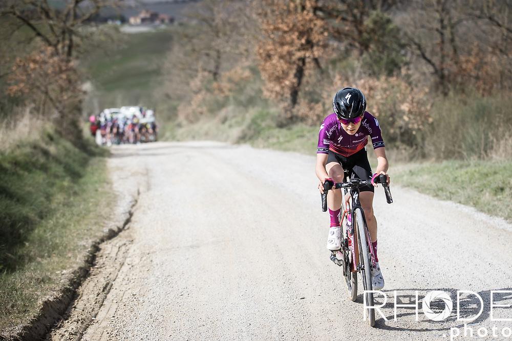 Niamh Fisher-Black (AUS/SDWorx)<br /> <br /> 7th Strade Bianche Women Elite <br /> Siena > Siena 136km<br /> <br /> ©RhodePhoto