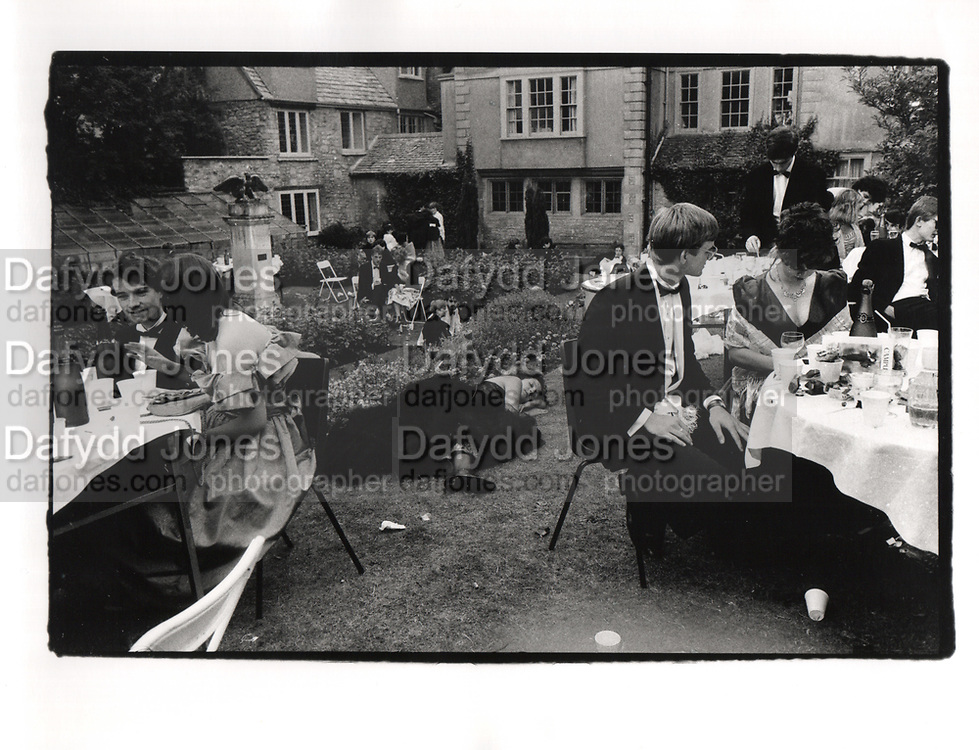 New College May Ball. Oxford. 1986