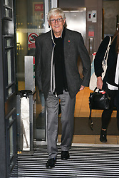 Michael Parkinson promoting his new book 'George Best: A Memoir' at BBC Radio Two Studios - London. 12 Nov 2018 Pictured: Michael Parkinson. Photo credit: mega TheMegaAgency.com +1 888 505 6342