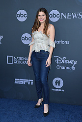 May 14, 2019 - New York, NY, USA - May 14, 2019  New York City..Lake Bell attending Walt Disney Television Upfront presentation party arrivals at Tavern on the Green on May 14, 2019 in New York City. (Credit Image: © Kristin Callahan/Ace Pictures via ZUMA Press)