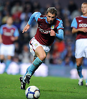 Fotball<br /> England<br /> Foto: Fotosports/Digitalsport<br /> NORWAY ONLY<br /> <br /> Stephen Warnock<br /> Aston Villa 2009/10<br /> Aston Villa V Manchester City (1-1) 05/10/09<br /> The Premier League