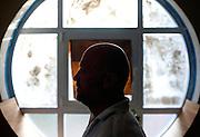 Filippo Nogarin nella sua casa a Castiglioncello.<br /> Livorno 13 luglio 2014 . Daniele Stefanini /  OneShot