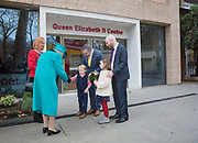 Queen Elizabeth II with Dr Carol Homden CBE Group Chief Executive of Coram visits childrens charity Coram to open the Queen Elizabeth II centre on 5th December 2018 in London, England. Coram is the UK's oldest childrens charity and was founded by Thomas Coram.