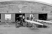 Caversham. Berkshire. UK Athletes, cleaning and wiping down their boats after the Time Trial at the 2016 GBRowing U23 Trials at the GBRowing Training base near Reading, Berkshire.<br /> <br /> Monday  11/04/2016 <br /> <br /> [Mandatory Credit; Peter SPURRIER/Intersport-images]