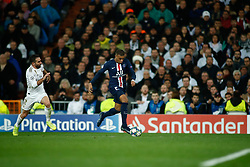 November 26, 2019, Madrid, MADRID, SPAIN: Kylian Mbappe of Paris Saint-Germain during the UEFA Champions League football match, Group A, played between Real Madrid and Paris Saint-Germain at Santiago Bernabéu Stadium on November 26, 2019, in Madrid, Spain. (Credit Image: © AFP7 via ZUMA Wire)