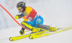 13.11.2016, Black Race Course, Levi, FIN, FIS Weltcup Ski Alpin, Levi, Salalom, Herren, 1. Lauf, im Bild Kristoffer Jakobsen (SWE) // Kristoffer Jakobsen of Sweden in action during 1st run of mens Slalom of FIS ski alpine world cup at the Black Race Course in Levi, Finland on 2016/11/13. EXPA Pictures © 2016, PhotoCredit: EXPA/ Nisse Schmidt<br /> <br /> *****ATTENTION - OUT of SWE*****