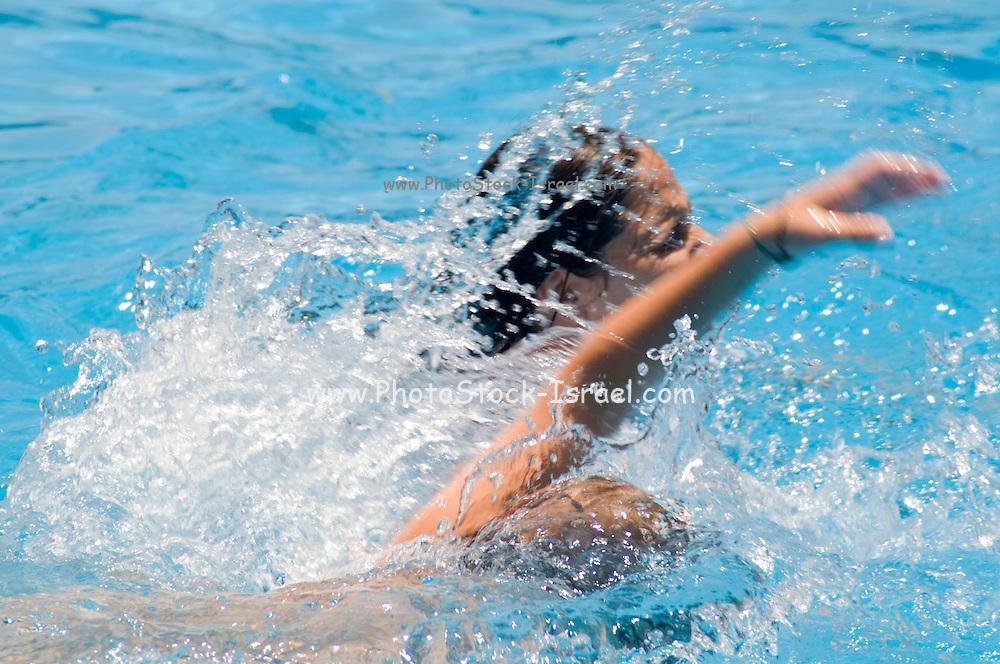 Israel, Sfaim water Park, summer fun swimming